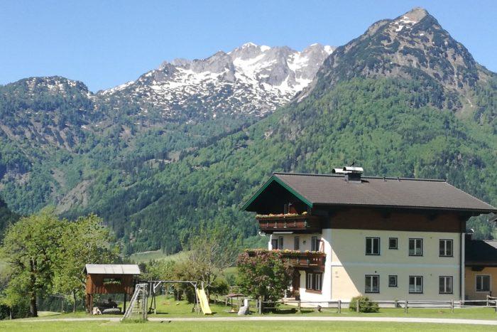 Hinterweinau - Bauernhofurlaub im Lammertal in Salzburg