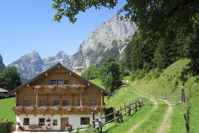 Kendlbach - Bauernhofurlaub im Lammertal in Salzburg