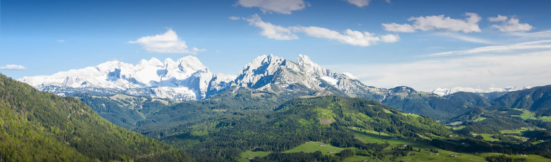 Sommerurlaub in Abtenau - Ferienwohnungen Blaue Berge