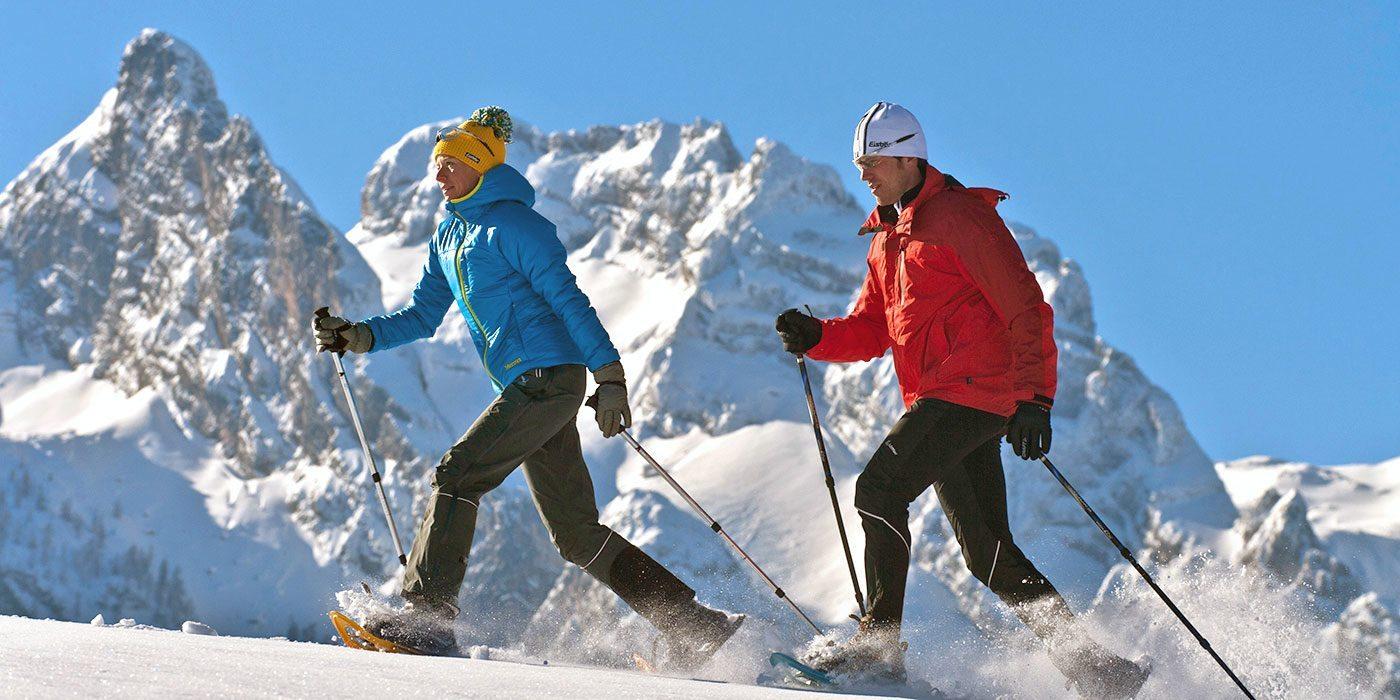 Schneeschuhwandern - Winterurlaub in Abtenau, Lammertal