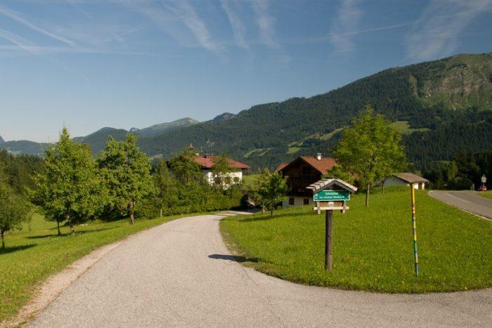 Schnitzhof-Bauernhofurlaub im Lammertal in Salzburg