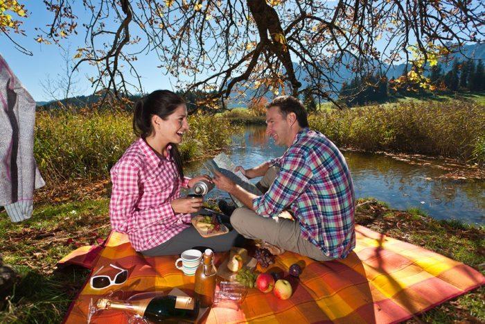 Picknick - Sommerurlaub in Abtenau, Lammertal