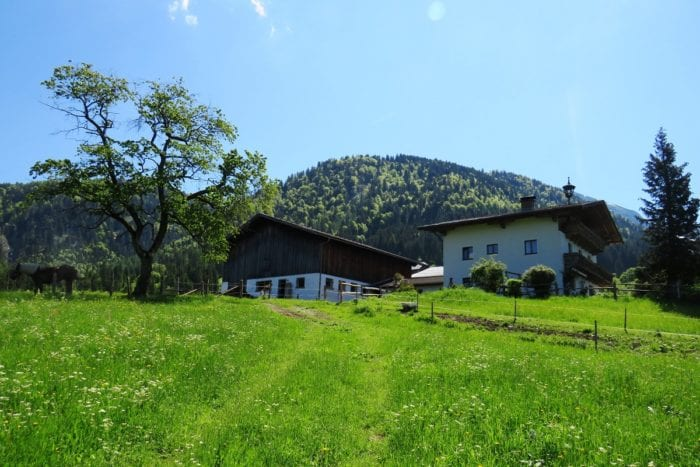 Unterhinterberg - Bauernhofurlaub im Lammertal in Salzburg