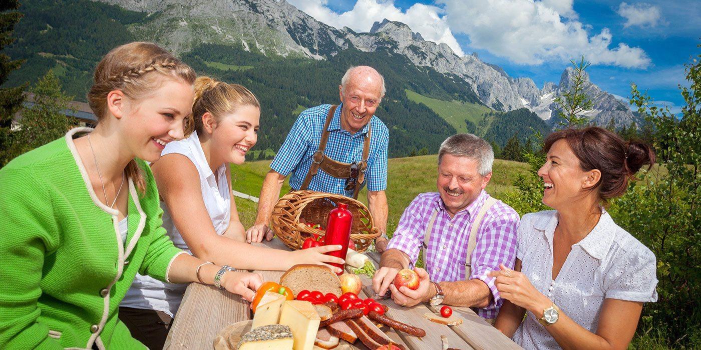 Wanderurlaub in Annaberg-Lungötz, Salzburger Land