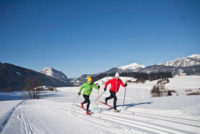 Langlaufen - Winterurlaub in Abtenau, Lammertal